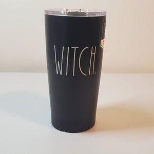 Rae Dunn 'Witch' Tumbler NWT